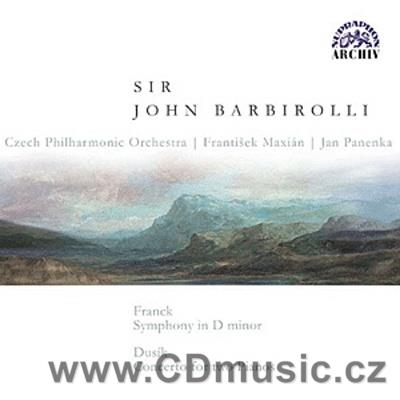 FRANCK C. SYMPHONY IN D MIN, DUSÍK J.L. (1760-1812) CONCERTO FOR TWO PIANOS AND ORCHESTRA