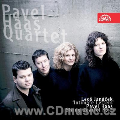 JANÁČEK L. STRING QUARTET No.2 INTIMATE LETTERS, HAAS P. STRING QUARTET No.2/ Pavel Haas Q