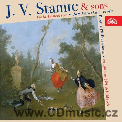 STAMITZ C. (1745-1801) CONCERTO FOR VIOLA AND ORCHESTRA Op.1, STAMIC J.V. (1717-1757) CONC