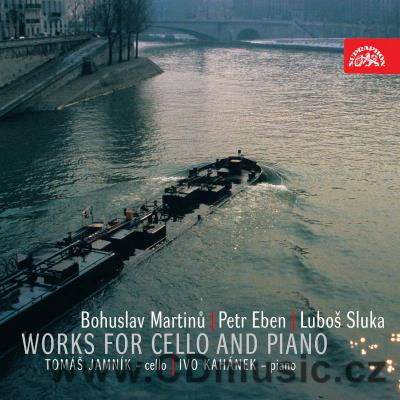 MARTINŮ B. SONATA FOR CELLO AND PIANO No.3 H. 340, VARIATIONS ON A SLOVAK FOLK SONG FOR CE