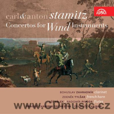 STAMITZ C. (1745-1801) CONCERTO FOR CLARINET IN E FLAT MAJ, CONCERTO FOR FRENCH HORN IN E
