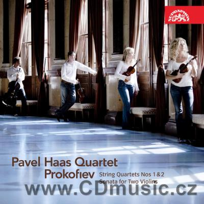 PROKOFIEV S. STRING QUARTET No.1, SONATA FOR 2 VIOLINS, STRING QUARTET No.2 / Pavel Haas Q