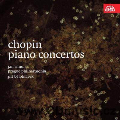 CHOPIN F. CONCERTOS FOR PIANO AND ORCHESTRA Nos.1,2 / J.Simon piano, PP / J.Bělohlávek