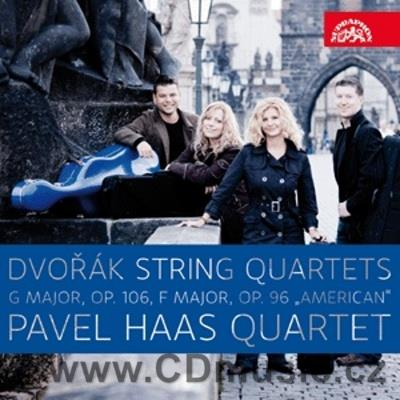 DVOŘÁK A. STRING QUARTET No.13 Op.106, STRING QUARTET No.12 Op.96 AMERICAN / Pavel Haas Q.