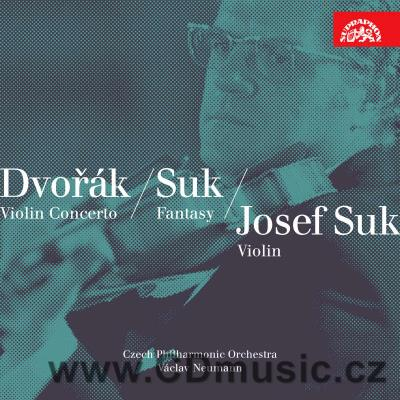 DVOŘÁK A. CONCERTO FOR VIOLIN AND ORCHESTRA IN A MIN Op.55, ROMANCE Op.11, SUK J. FANTASY