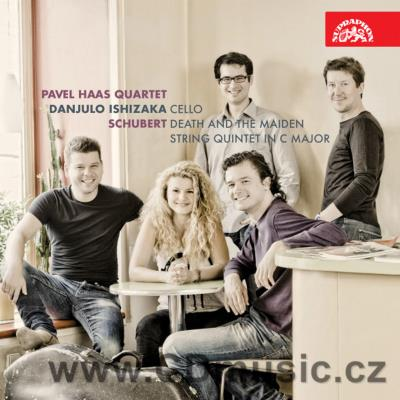 SCHUBERT F. DEATH AND THE MAIDEN, STRING QUINTET / Pavel Haas Quartet, D.Ishizaka cello