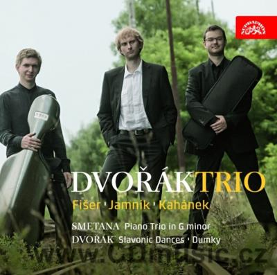 DVOŘÁK A. PIANO TRIO DUMKY No.4 Op.90, SLAVONIC DANCES FOR PIANO TRIO Nos.2,3,8, SMETANA B