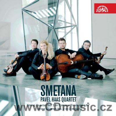 SMETANA B. STRING QUARTETS No.1 FROM MY LIFE, No.2 / Pavel Haas Quartet