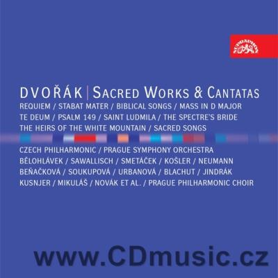 DVOŘÁK A. SACRED WORKS AND CANTATAS (STABAT MATER, TE DEUM, MASS, BIBLICAL SONGS... (8CD)