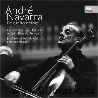 NAVARRA A. PRAGUE RECORDINGS / A.Navarra cello, CPO / K.Ančerl, C.Silvestri