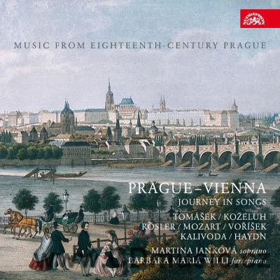 PRAGUE - VIENNA - JOURNEY IN SONGS / M.Janková soprano, B.M.Willi fortepiano