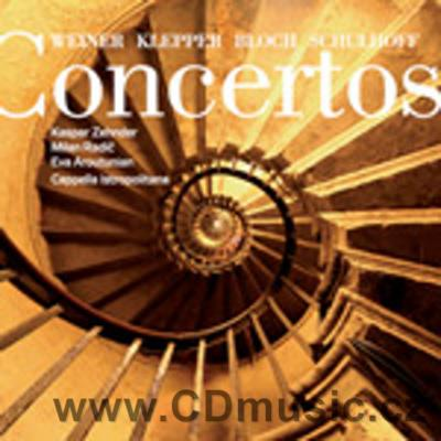 WEINER L. CONCERTO FOR FLUTE, VIOLA, PIANO AND ORCH., KLEPPER L. CONCERTINO FOR VIOLA, FLU