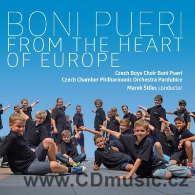 BONI PUERI - FROM THE HEART OF EUROPE / Czech Boys Choir Boni Pueri, Czech Chamber Phil.