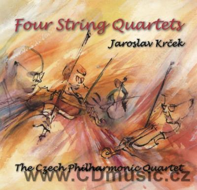KRČEK J. (b.1939) FOUR STRING QUARTETS / Czech Philharmonic Quartet