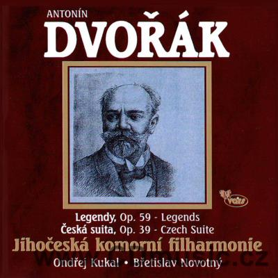 DVOŘÁK A. LEGENDS FOR ORCHESTRA Op.59, CZECH SUITE Op.39 / The Southern Bohemia Chamber Ph